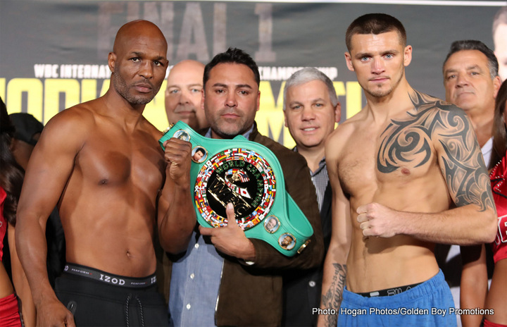 Bernard Hopkins knocked out of the ring in final bout
