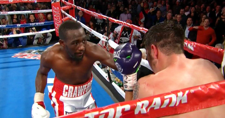 Terence Crawford Vs. John Molina Results