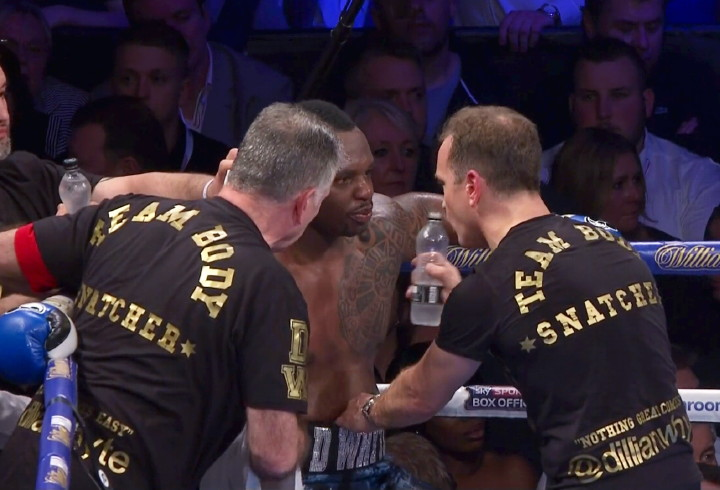 Chisora aims final dig at Whyte