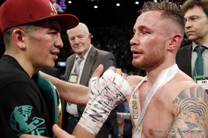 Carl Frampton: 'I have edge over Leo Santa Cruz'