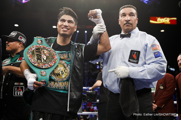 Image result for Mikey Garcia fighter of the year
