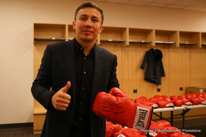 Gennady Golovkin Saul Alvarez DAZN Eddie Hearn Matchroom Boxing USA