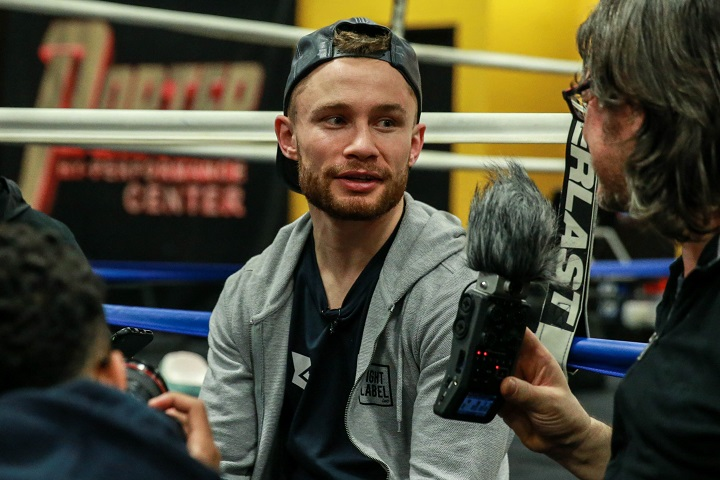 - Latest Carl Frampton Frampton vs. Warrington Josh Warrington