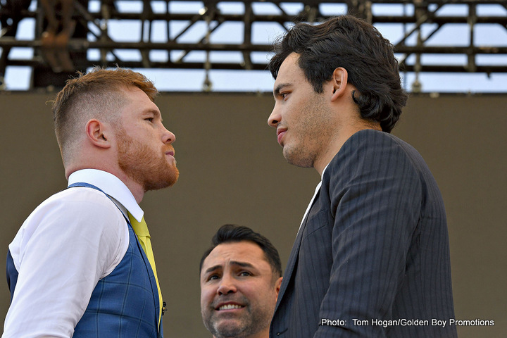 Image result for Chavez vs Canelo Live