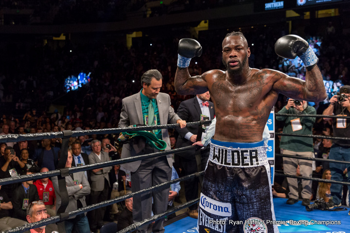 Wilder vs  Ortiz with clear path to Nov 4 ⋆ Boxing News 24