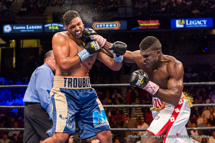 Dominic Breazeale Vs Carlos Negron On Dec 22 At Barclays Center Ny