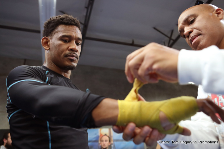 Jacobs won't let Golovkin hit him