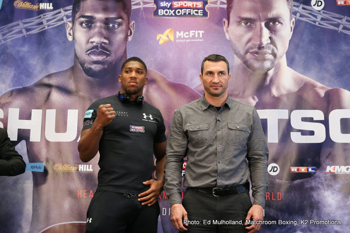 0be14020b8e Wladimir  Joshua is a copy of me » Boxing News 24 Boxing News 24