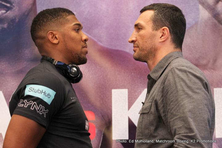 Anthony Joshua –Wladimir Klitschko New York City Media Day » Boxing News