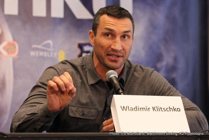 Anthony Joshua Freddie Roach Manny Pacquiao Wladimir Klitschko