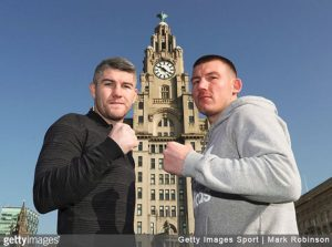 Liam Smith and Williams face-off at the iconic royal liver ...