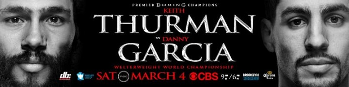 - Latest Danny Garcia Keith Thurman Sugar Ray Leonard