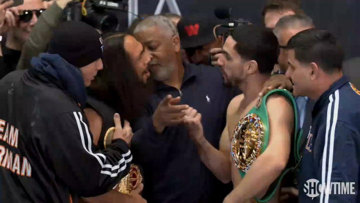 Danny Garcia Keith Thurman Garcia vs. Thurman