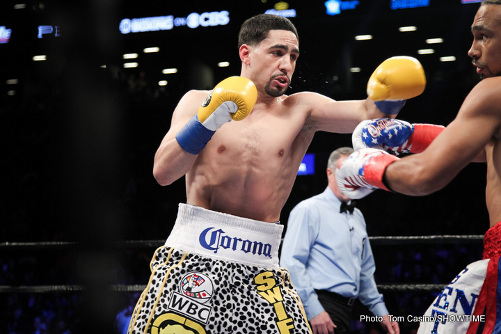 Danny Garcia Keith Thurman Thurman vs. Garcia