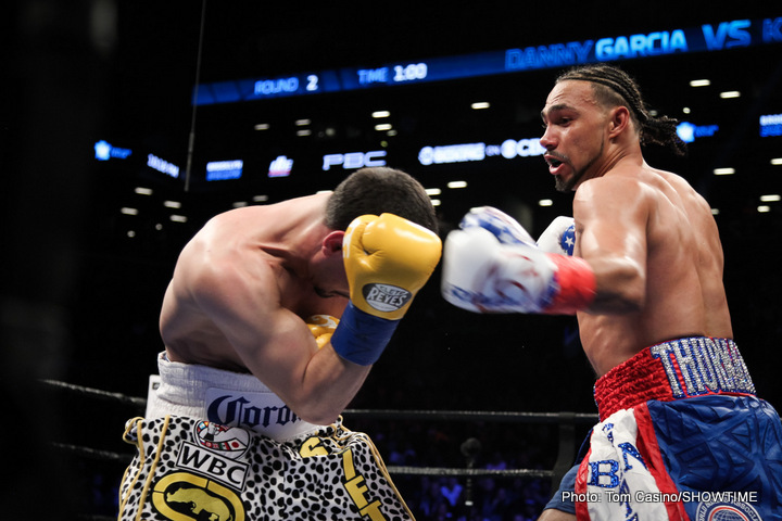 Daniel Jacobs Keith Thurman Angel Garcia Thurman vs. Garcia