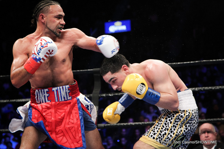 Danny Garcia Keith Thurman Angel Garcia Thurman vs. Garcia