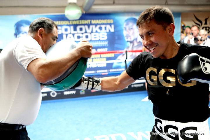 Canelo Alvarez Daniel Jacobs Gennady Golovkin
