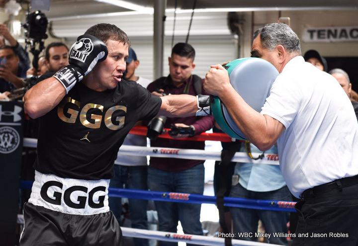 "Gennady Golovkin Saul Alvarez Canelo vs. Golovkin Gary ""Spike"" O'Sullivan"