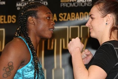 Claressa Shields: Olympic champion beats Szilvia Szabados in historic televised event
