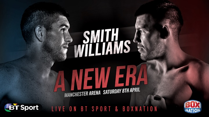 - Latest Liam Smith Liam Williams