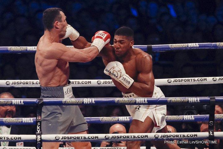 Anthony Joshua Wladimir Klitschko Joshua vs. Klitschko II
