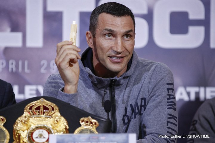- Latest Anthony Joshua Wladimir Klitschko