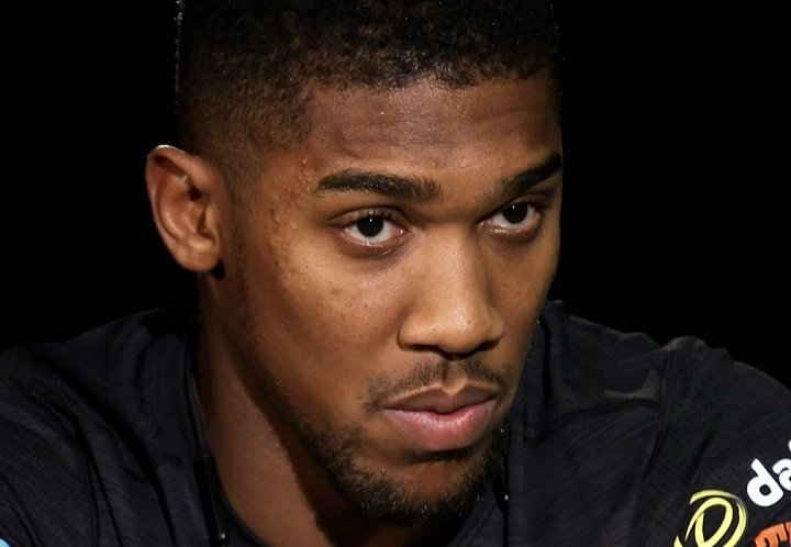 Undefeated IBF Champion Anthony Joshua hosted a media conference call to  give his thoughts on Saturday's heavyweight blockbuster between him and ...