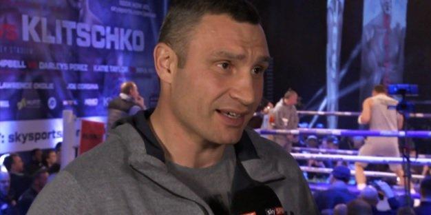 Vitali Klitschko Seeks Revenge Fight Against Anthony Joshua