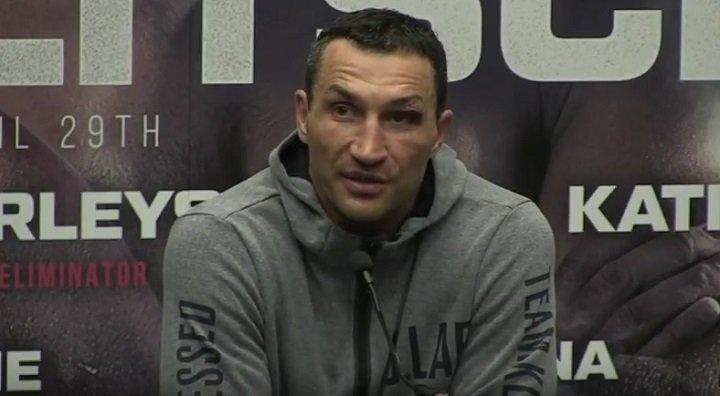 Anthony Joshua Wladimir Klitschko