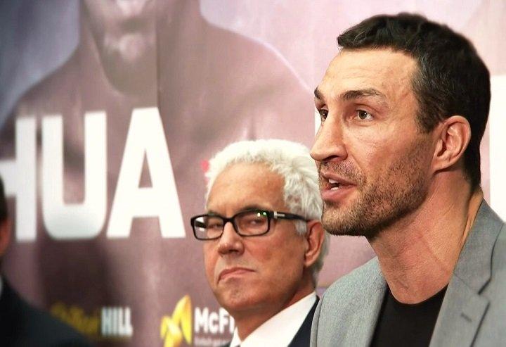 Anthony Joshua Lennox Lewis Wladimir Klitschko