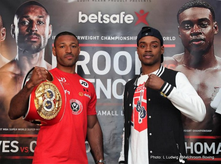 - Latest Errol Spence Jr Kell Brook