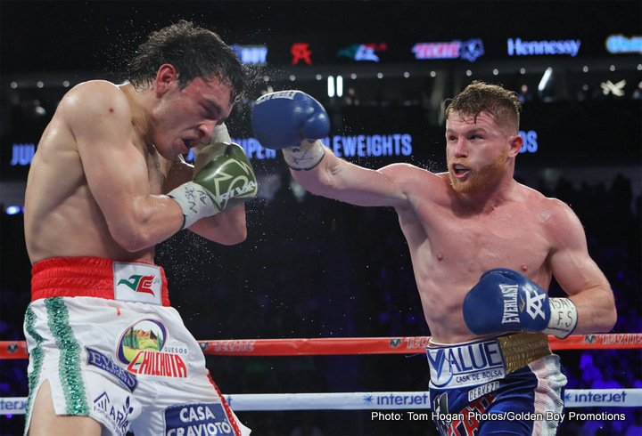 - Latest Canelo Alvarez Julio Cesar Chavez Jr.
