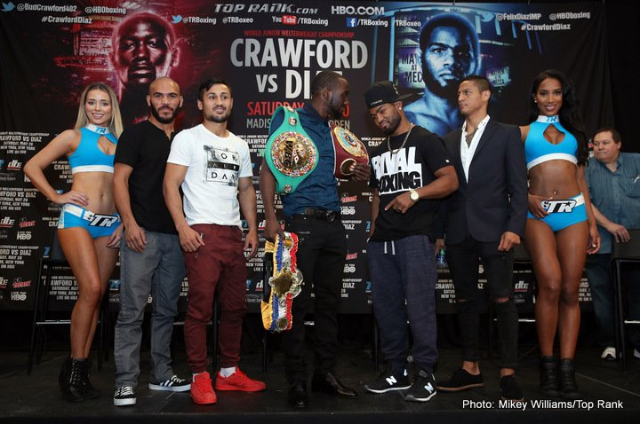 Felix Diaz Terence Crawford Crawford vs. Diaz Jonathan Maicelo Ray Beltran Shakur Stevenson