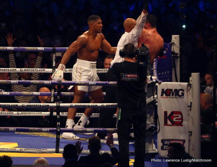 Federal Government to Invite Anthony Joshua to Nigeria
