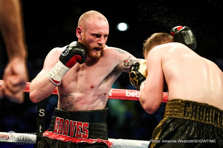 - Latest George Groves