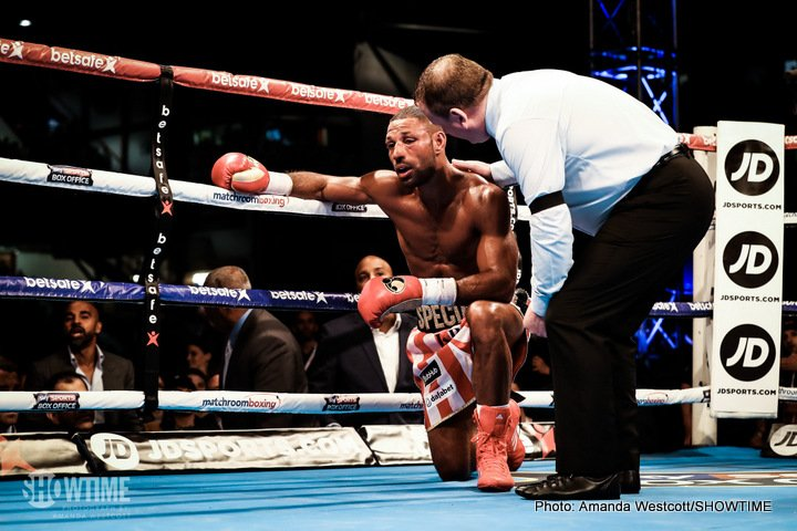 Errol Spence Jr Kell Brook Brook vs. Spence Chris Eubank