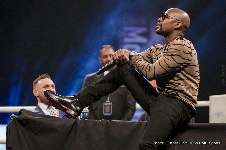 - Latest Floyd Mayweather Jr Conor McGregor Mayweather vs. McGregor