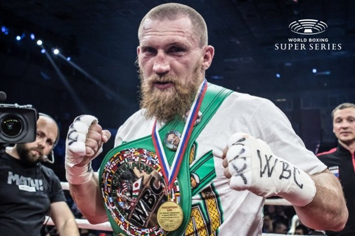 - Latest Dmitry Kudryashov World Boxing Super Series