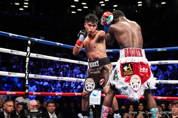 Adrien Broner Mikey Garcia Broner vs. Garcia