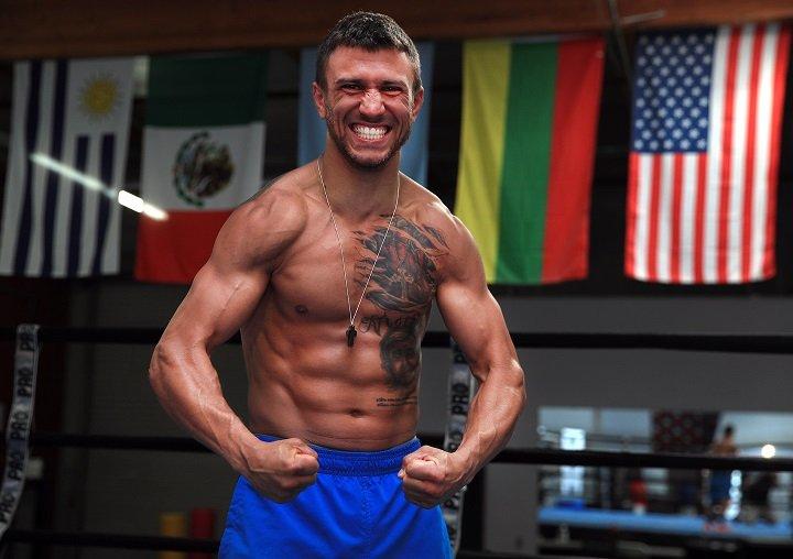 Jorge Linares Vasyl Lomachenko Linares vs. Lomachenko Luke Campbell Matchroom Boxing