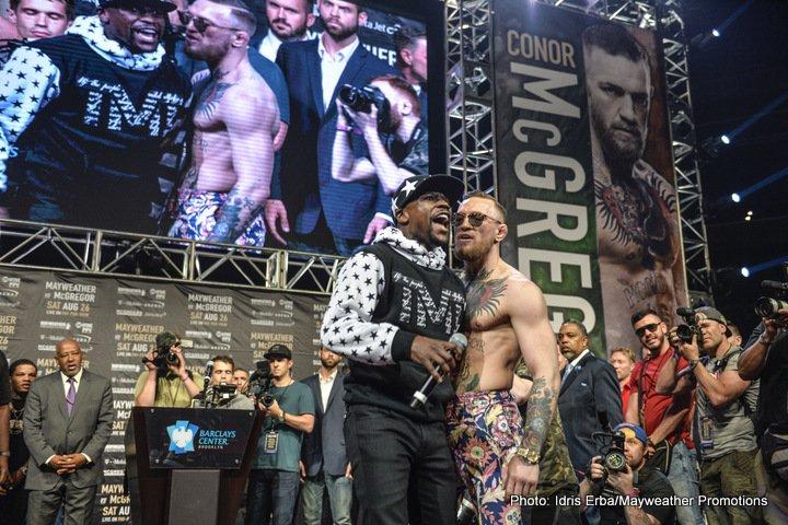 Floyd Mayweather Jr Conor McGregor Mayweather vs. McGregor