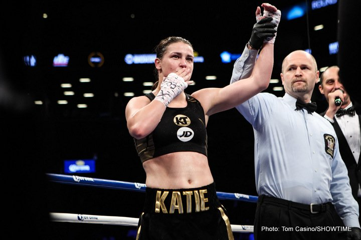 - Latest Katie Taylor
