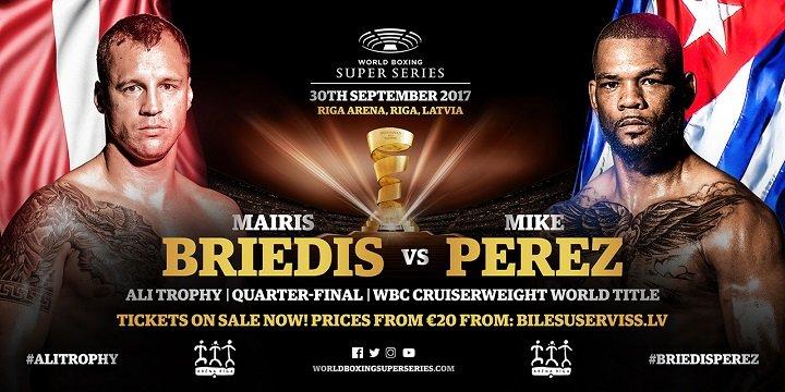 - Latest Briedis vs. Perez Mairis Briedis Mike Perez