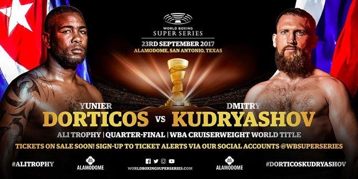 - Latest Dorticos vs. Kudryashov Yunier Dorticos