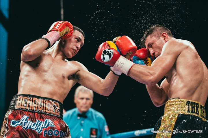 Latest Benavidez vs. Gavril David Benavidez Ronald Gavril