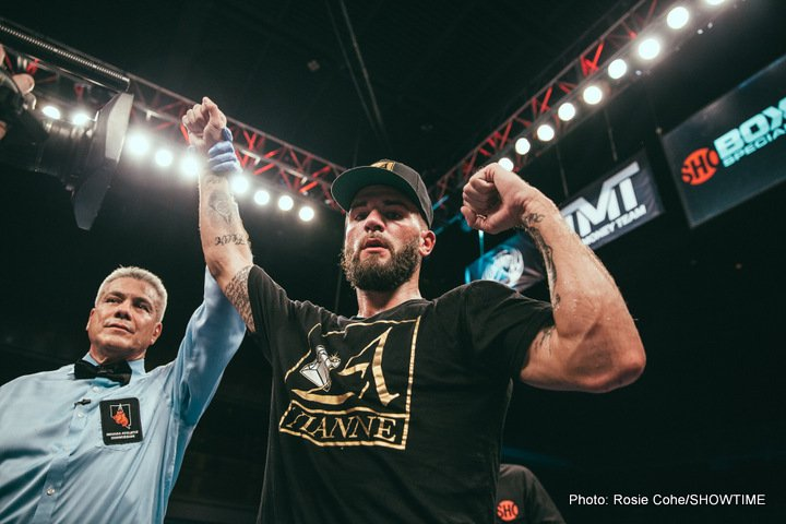 - Latest Caleb Plant Jose Uzcategui