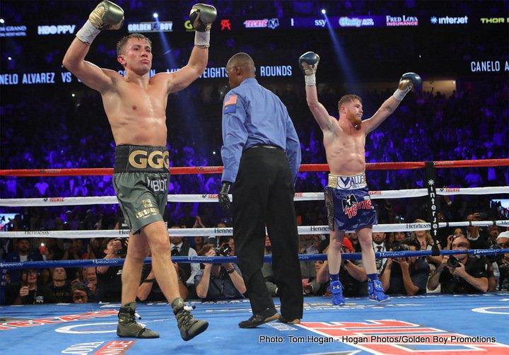 Gennady Golovkin Saul Alvarez Canelo vs. Golovkin II Golden Boy Promotions Tom Loeffler