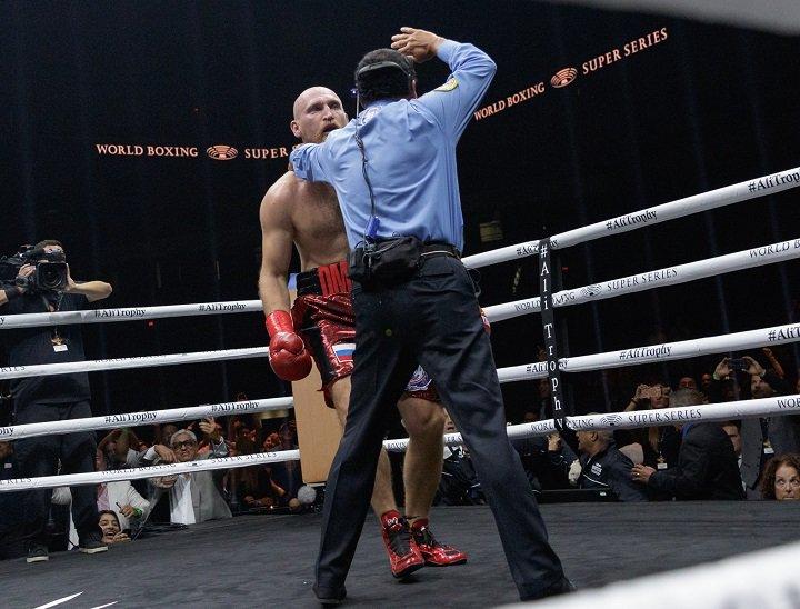Yunier Dorticos  vs Dmitry Kudryashov  Full Fight Video (World Boxing Super Series )