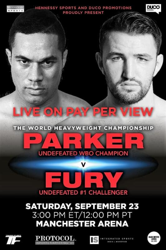 - Latest Joseph Parker Hughie Fury Parker vs. Fury
