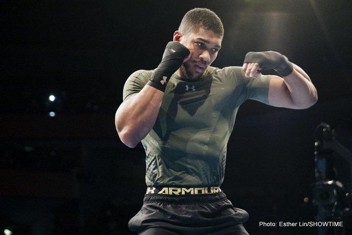 Anthony Joshua Deontay Wilder Wladimir Klitschko Carlos Takam Joshua vs. Takam